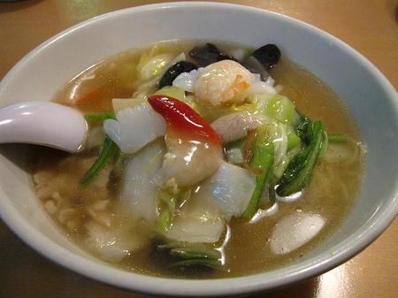 満菜館 広東麺
