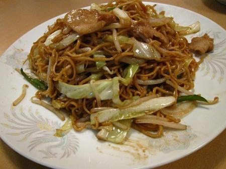 満菜館 急汁炒麺
