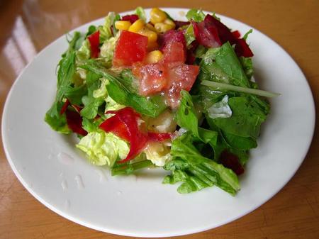 パスタール ランチセットのサラダ