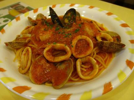イタリア亭 ベスビオ風辛口トマトスパゲティー