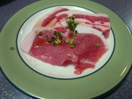 焼肉 燦 豚ロース(塩)