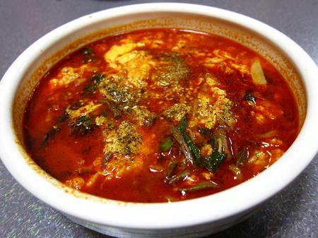 焼肉 燦 テグタンスープ