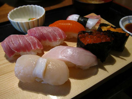 光駕 上にぎり寿司