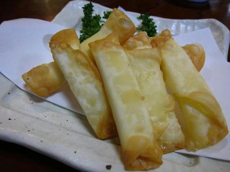 お食事処 たちき チーズ揚げ