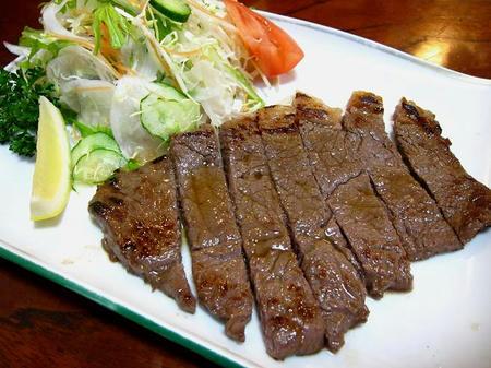 お食事処 たちき 上州牛ステーキ