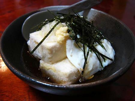 お食事処 たちき(樹) 揚げ出し豆腐