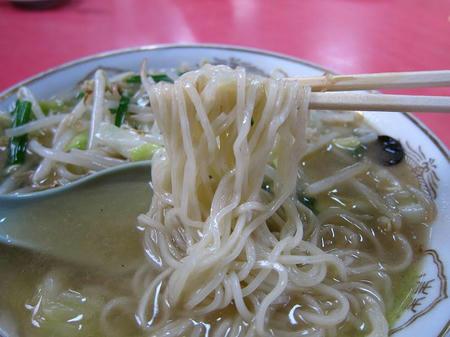 中華料理 龍苑 タンメン