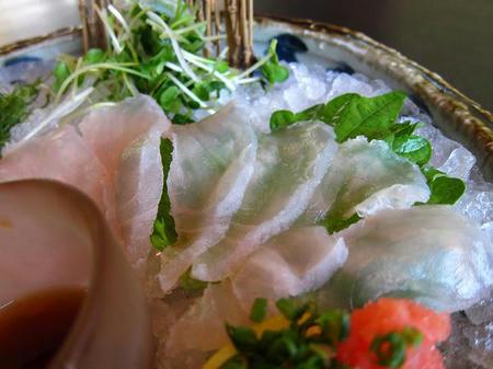 川魚・郷土旬菜 うおとし なまず薄造り
