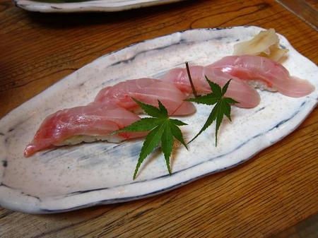 えぼし 茅ヶ崎本店 金目鯛寿司