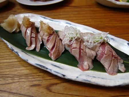 えぼし 茅ヶ崎本店 トロあぶり寿司