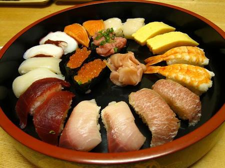 海鮮四季 北海亭 寿司盛り合わせ