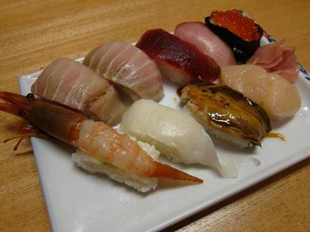 海鮮四季 北海亭 特上にぎり寿司