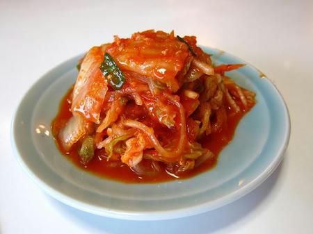 忠央食堂 白菜キムチ