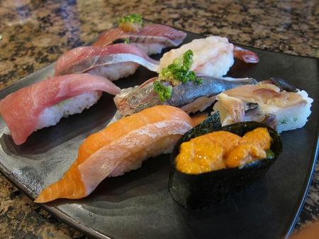 がってん寿司 みちのく旨いもの8貫握り