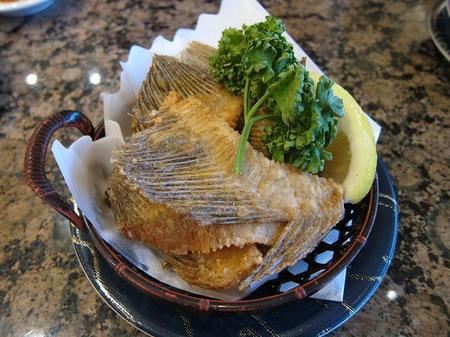 がってん寿司 カレイのヒレせんべい