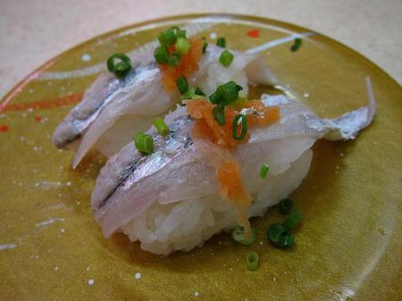 北陸富山回転寿司 かいおう 太刀魚