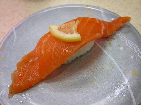 北陸富山回転寿司 かいおう 生サーモン