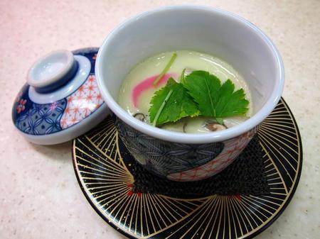 北陸富山回転寿司 かいおう 茶碗蒸し