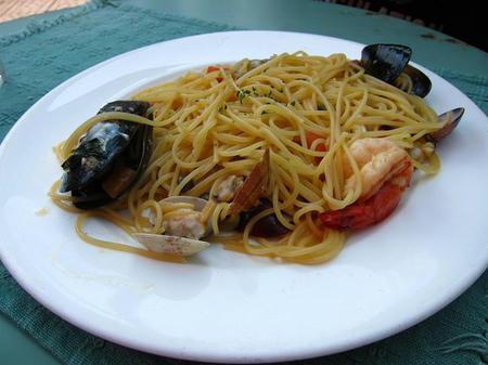 トラットリア パッパーレ 魚介の塩味