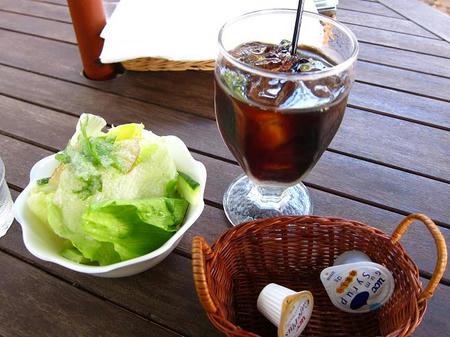 GUMBO サラダ&アイスコーヒー