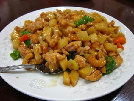 梅蘭 淵野辺店 鶏肉とカシューナッツ炒め