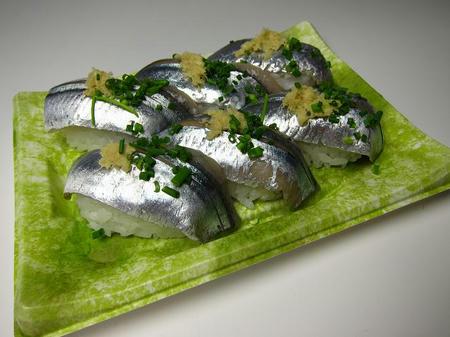 角上魚類 さんま寿司