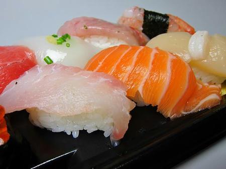角上魚類 白身、サーモン、ホタテ