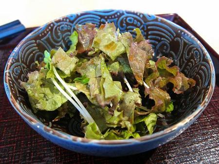 蕎麦処 鏑屋響 サラダ