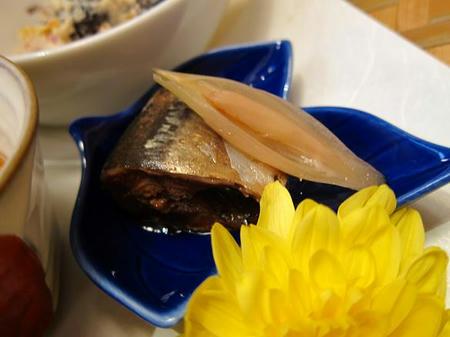菊もと 秋刀魚の煮付け