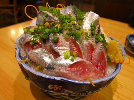 和食レストラン とんでん いわし刺身