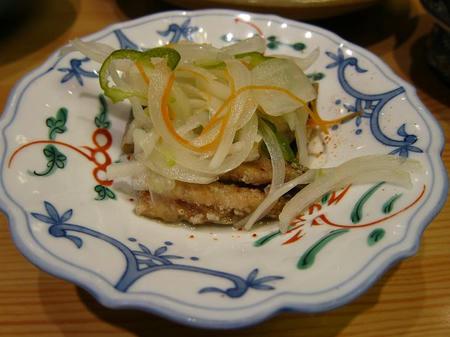 和食レストラン とんでん いわしのマリネ