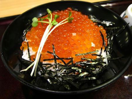 和食レストラン とんでん いくらづくし丼