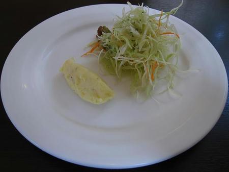 カレー風味 すずき サラダ