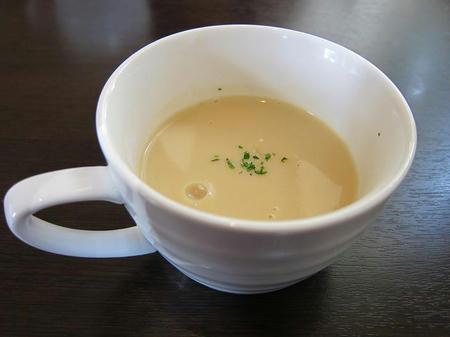 カレー風味 すずき スープ