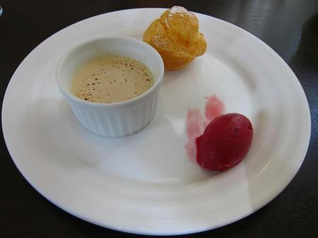 カレー風味 すずき デザート