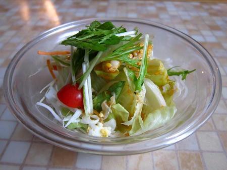 イタリア料理 蒲公英 サラダ