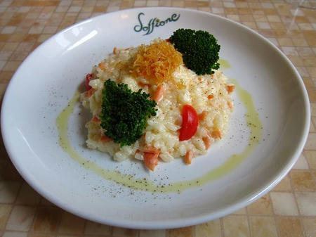 イタリア料理 蒲公英 サルモーネ