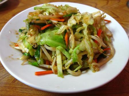 中華飯店 鈴蘭 野菜炒め