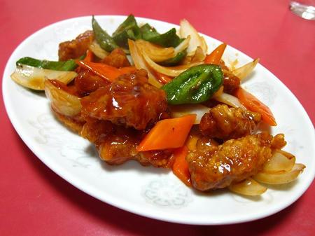 広東料理 太湖 酢豚