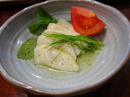 魚友 本店 活タコのレモンマリネ