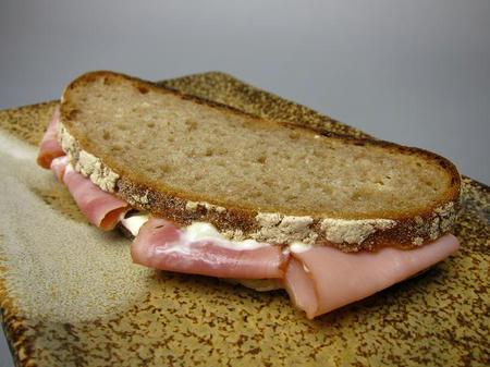 政次郎のパン ドイツパンのサンドウィッチ