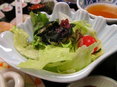 海鮮茶屋 せんざん本店 サラダ