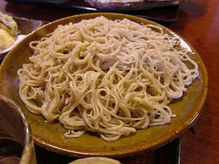 武本庵 蕎麦(大盛)