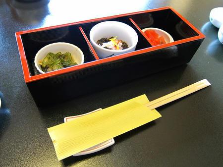 みほ鮨 小鉢三種盛