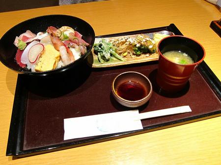 うめむら 海鮮丼定食
