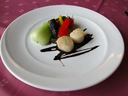 安心食材グラツィエ 帆立のオーブン焼き