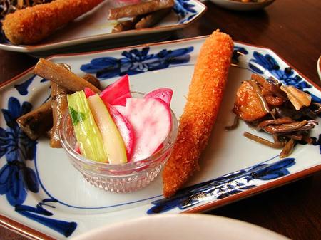 Omoya Cafe&Lunch 人参フライ