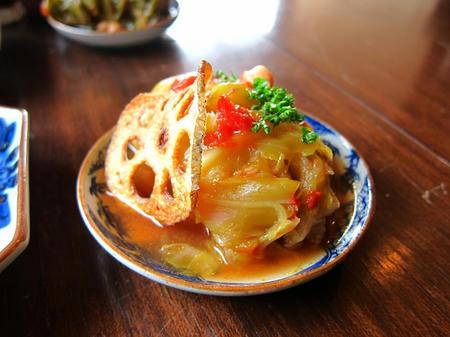Omoya Cafe&Lunch ロールキャベツトマト煮