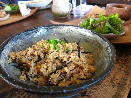 玄米チャーハンセット
