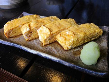 蕎麦商 楓 卵焼き